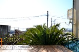 Вид с террасы.  Гостиница