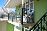 Балкон.  Гостиница
