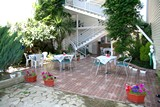 Внутренний двор.  Гостиница