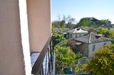 Вид с балкона,  Дом отдыха Закавказье, г.Гагра, Абхазия