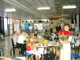 Столовая. База отдыха Золотая бухта, г.Пицунда, Абхазия