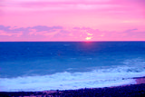 Пляж. База отдыха Золотая бухта, г.Пицунда, Абхазия