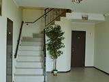 Лестница на этаж. Парк-отель