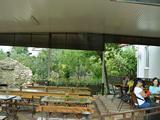 Кафе на территории. Парк-отель