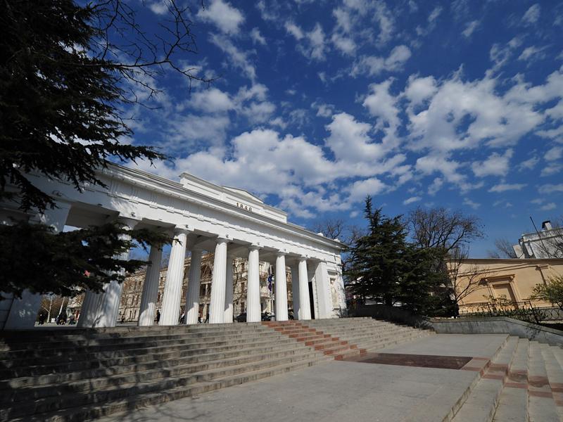 Крым, Севастополь, Графская пристань