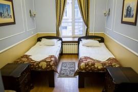 """Отель """"Классик"""", Санкт-Петербург, 2-местный номер эконом"""