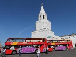 Экскурсия на 2-этажном автобусе, Казань