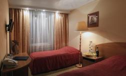 """Отель """"Поло Регата"""", Санкт-Петербург,  2-местный номер с раздельными кроватями"""