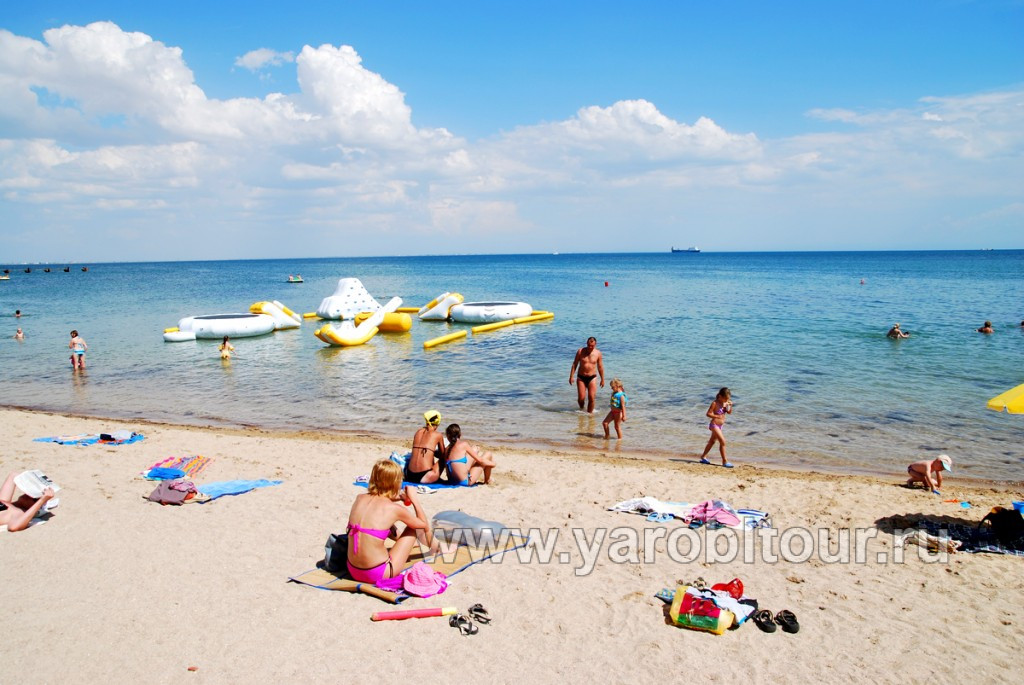 Пляж. г. Евпатория