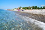 Пляж п.Головинка, г.Сочи