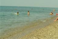 Пляж п.Николаевка, Крым