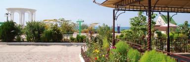 Набережная базы отдыха ″Скиф″ п.Николаевка, Крым