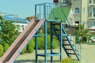 Детская площадка на набережной п.Николаевка, Крым