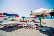 Абхазия Пицунда Литфонд пляж
