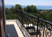 Гостевой дом «Целебный источник», Абхазия, г. Новый Афон, п. Приморское вид с балкона