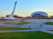 Олимпийский парк. Адлер. Сочи.
