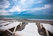 Пляж. п.Лазаревское, г.Сочи