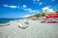 Пляж. п.Лоо, г.Сочи