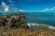 Пляж. п. Вардане, г. Сочи