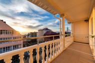 балкон в 2-местных номерах отеля Ирис, г. Геленджик